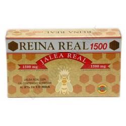 REINA REAL 1500 JALEA REAL ROBIS 20 ampollas de 10 ml.