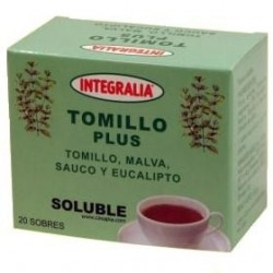 TOMILLO PLUS SOLUBLE INTEGRALIA 20 SOBRES