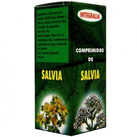 SALVIA. INTEGRALIA. 60 comprimidos de 500 mg.