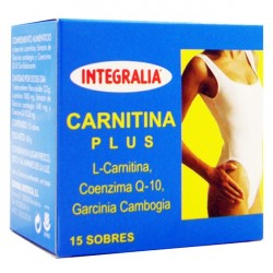 CARNITINA PLUS. INTEGRALIA. 15 sobres.