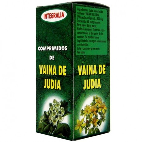 VAINA DE JUDÍA.TABELLA DE FESOL. INTEGRALIA. 60 comprimits de 500 mg.