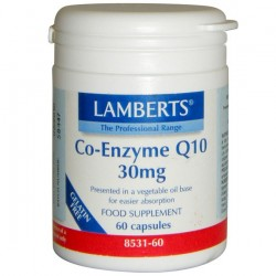 CO-ENZYME Q10 30 MG. LAMBERTS 60 cápsulas