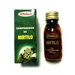 MIRTILO. INTEGRALIA. 60 comprimidos. 37 g.