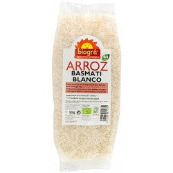 ARROZ BASMATI BLANCO BIOGRÀ - SORRIBAS 500 g.