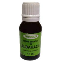 ACEITE ESENCIAL DE ALBAHACA - Ocimum basilicum L. - INTEGRALIA 15 ml.