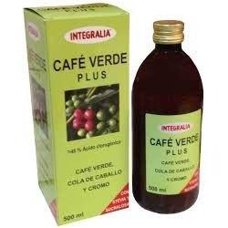 CAFÉ VERDE PLUS INTEGRALIA 500 ML.