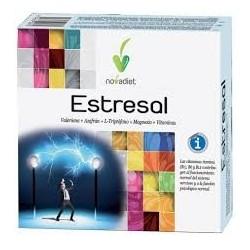 Estresal valeriana +a zafrán + triptófano + magnesio + vitaminas Novadiet 60 cápsulas