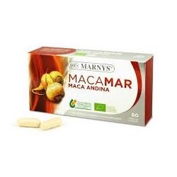 MACAMAR MACA ANDINA BIO Lepidium peruvianum MARNYS. 60 cápsulas