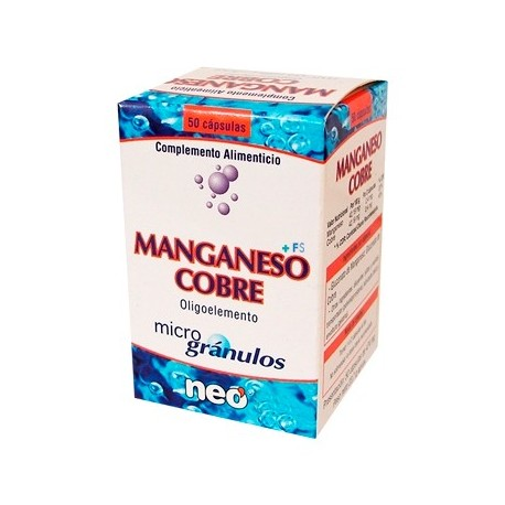 MANGANESO-COBRE NEO 50 cápsulas