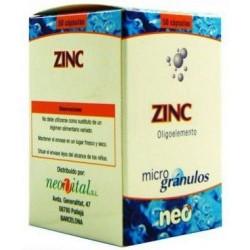 ZINC Microgránulos NEO 50 cápsulas