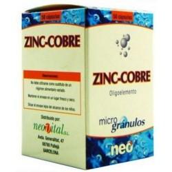 ZINC COBRE NEO 50 cápsulas