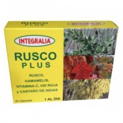 RUSCO PLUS INTEGRALIA 30 cápsulas
