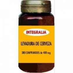 LEVADURA DE CERVEZA 400 mg INTEGRALIA