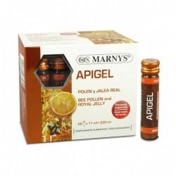 APIGEL POLEN Y JALEA REAL MARNYS 20 viales x 11 ml