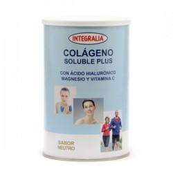 COLÁGENO SOLUBLE PLUS CON ÁCIDO HIALURÓNICO MAGNESIO Y VITAMINA C INTEGRALIA 360 g