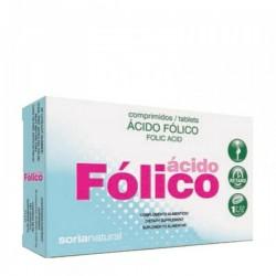 ÁCIDO FÓLICO RETARD SORIA NATURAL 48 comprimidos