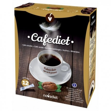 CAFEDIET NOVADIET 12 sticks