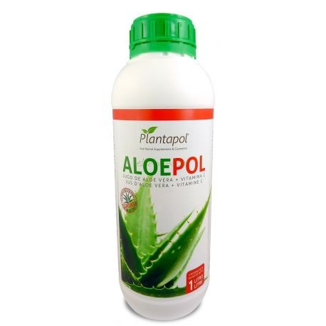 JUGO DE ALOE VERA 100% PLANTAPOL 1 l.
