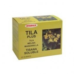 TILA PLUS SOLUBLE INTEGRALIA 20 sobres