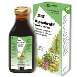 Alpenkraft Salus Jarabe herbal de 250 ml.