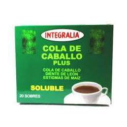COLA DE CABALLO PLUS SOLUBLE. INTEGRALIA. 20 sobres.