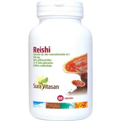 REISHI 500 mg. SURA VITASAN 60 cápsulas