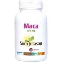 Maca 750 mg. Sura Vitasan 120 cápsulas