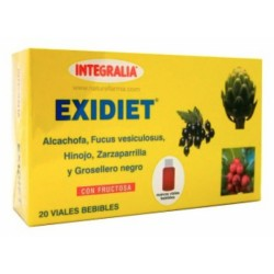 Exidiet Con Fructosa Integralia 20 viales bebibles