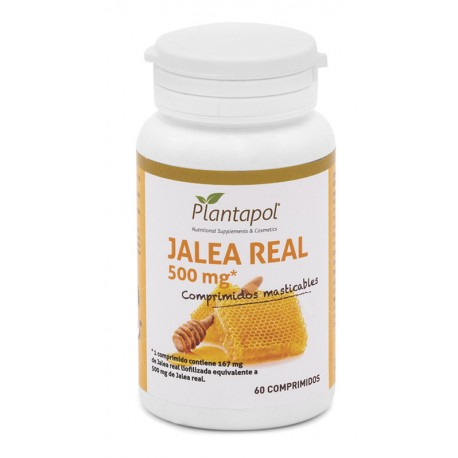 JALEA REAL 500 PLANTAPOL 60 comprimidos