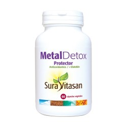 Metal Detox Protector Sura Vitasan 60 cápsulas