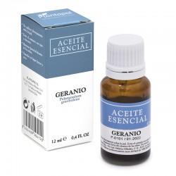 Geranio Pelargonium graveolens Aceite esencial Plantapol 12 ml.